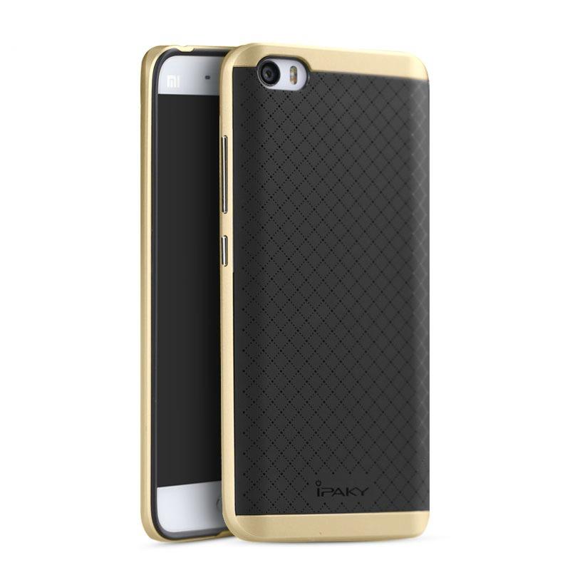 Ipaky Θήκη Hybrid Xiaomi Mi 5 - Black/Gold (8622)