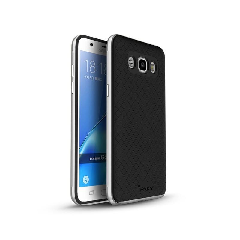 Ipaky Θήκη Premium Hybrid Samsung Galaxy J5 (2016) - Silver (10329)