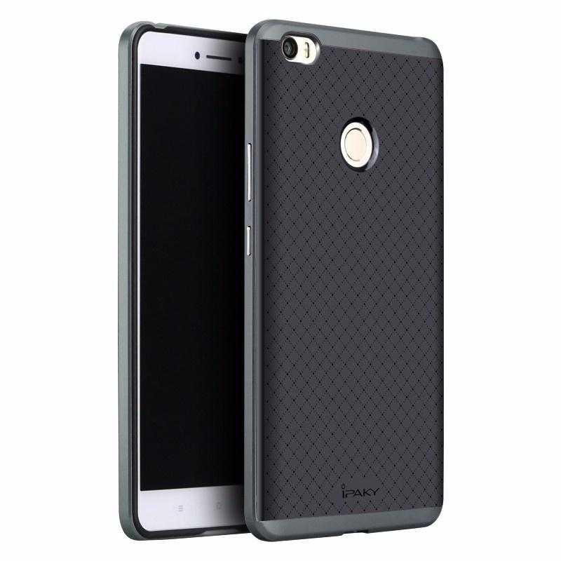 Ipaky Θήκη Premium Hybrid Xiaomi Mi Max - Black/Grey (10348)