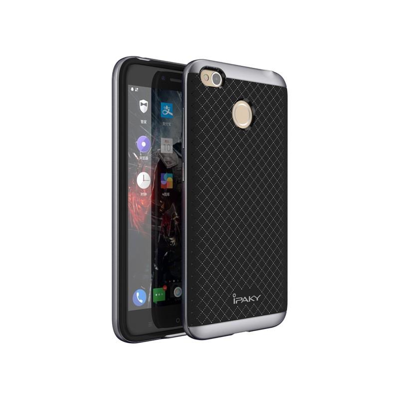 Ipaky Θήκη Hybrid Xiaomi Redmi 4X  - Black/Gray (11150)