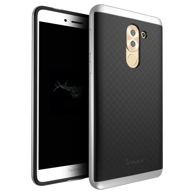 Ipaky Θήκη Hybrid Huawei Honor 6X - Black/Silver (9363) θήκες κινητών