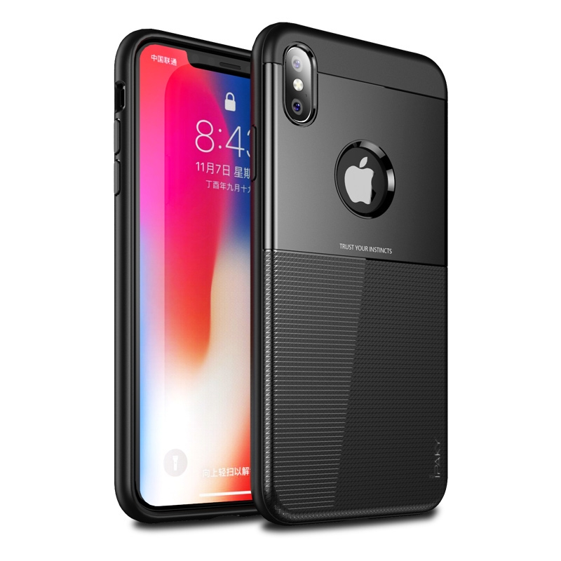 Ipaky Shield Θήκη iPhone XS Max - Black (14994)