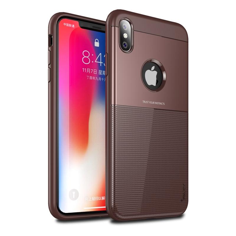Ipaky Shield Θήκη iPhone XS Max - Brown (14992)