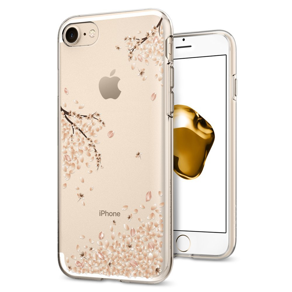Spigen Θήκη Liquid Crystal iPhone 8 / 7 - Shine Blossom (042CS21220)