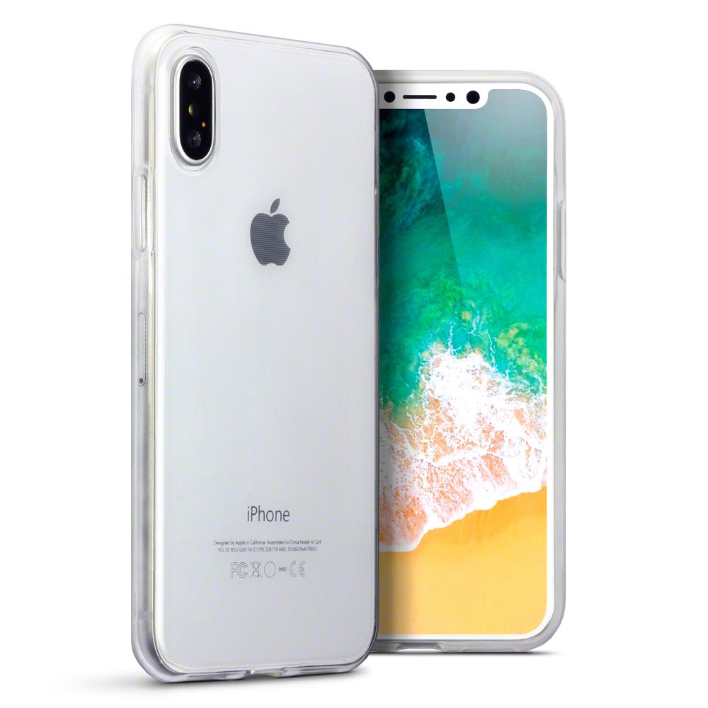 Terrapin Thin Διάφανη Θήκη Σιλικόνης iPhone X / XS - Clear (118-125-002)