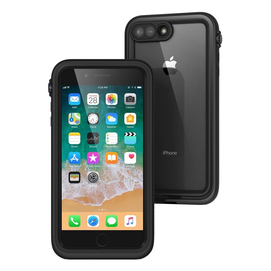 Catalyst Αδιάβροχη Θήκη iPhone 8 Plus / 7 Plus με TouchID - Stealth Black (CATIPHO8+BLK)