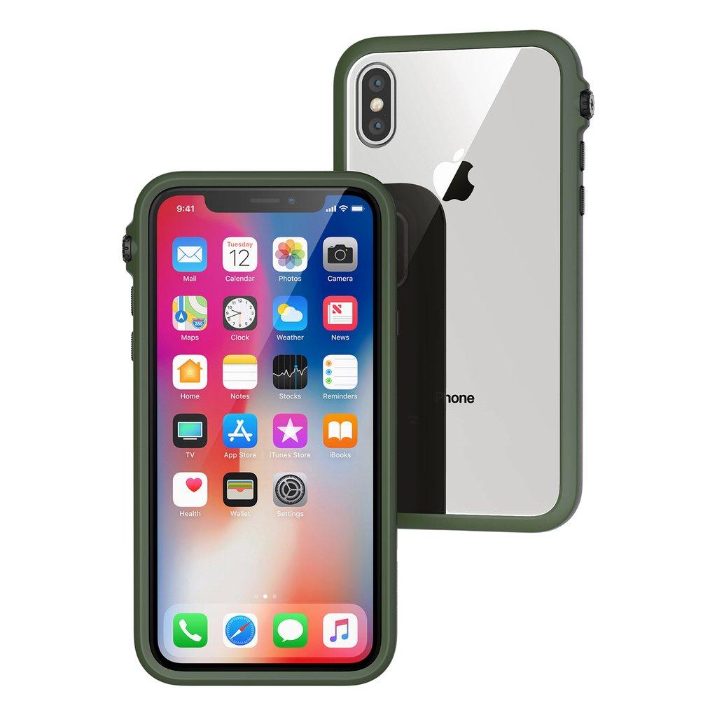 Catalyst Θήκη Impact Protection iPhone X / 10 - Army Green (CATDRPHXGRN)