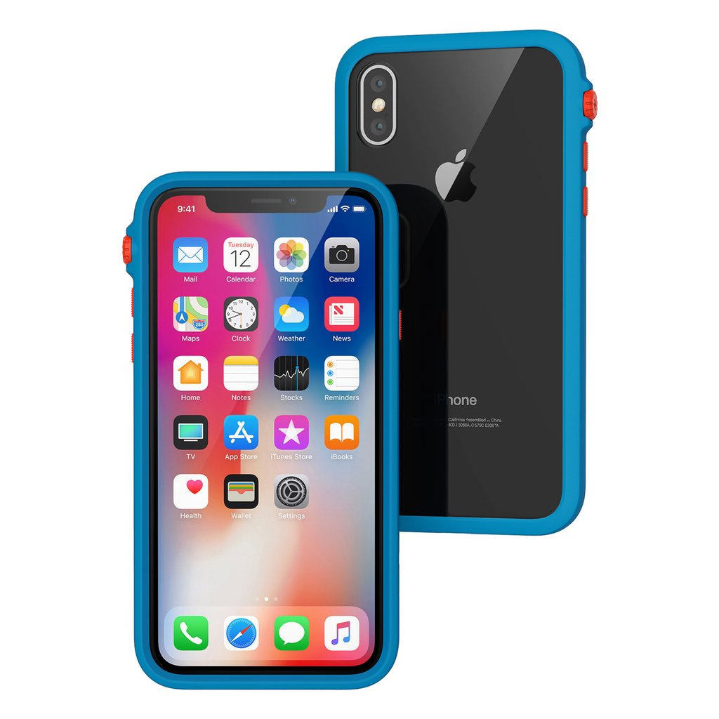 Catalyst Θήκη Impact Protection iPhone X / 10 - Blue (CATDRPHXTBFC)