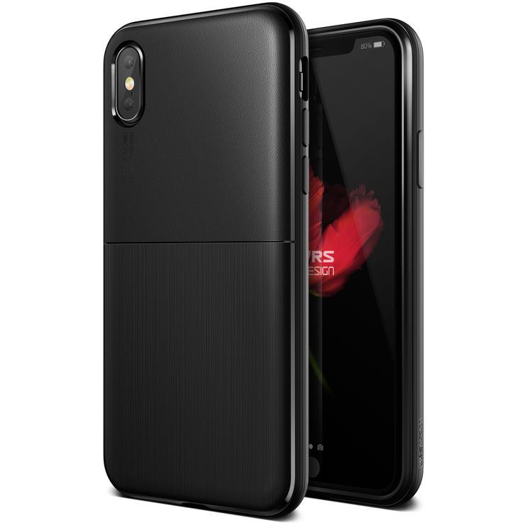 VRS Design Θήκη Single Fit iPhone X / XS - Black (VRSIP8-SFTBK)