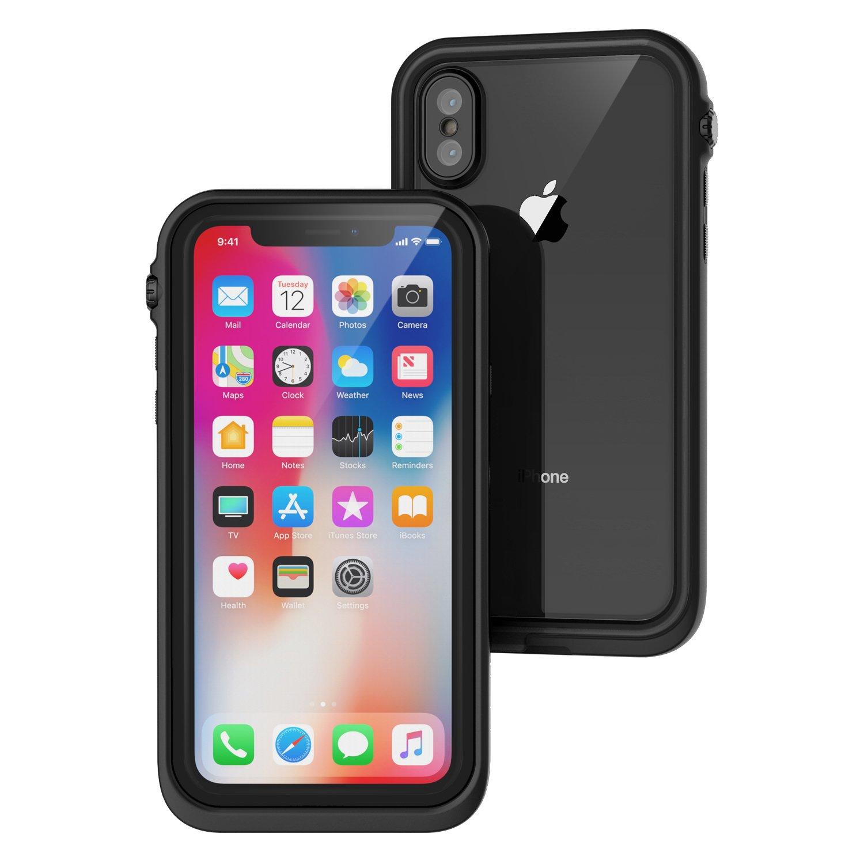 Catalyst Αδιάβροχη Θήκη iPhone X με TouchID - Stealth Black (CATIPHOXBLK)