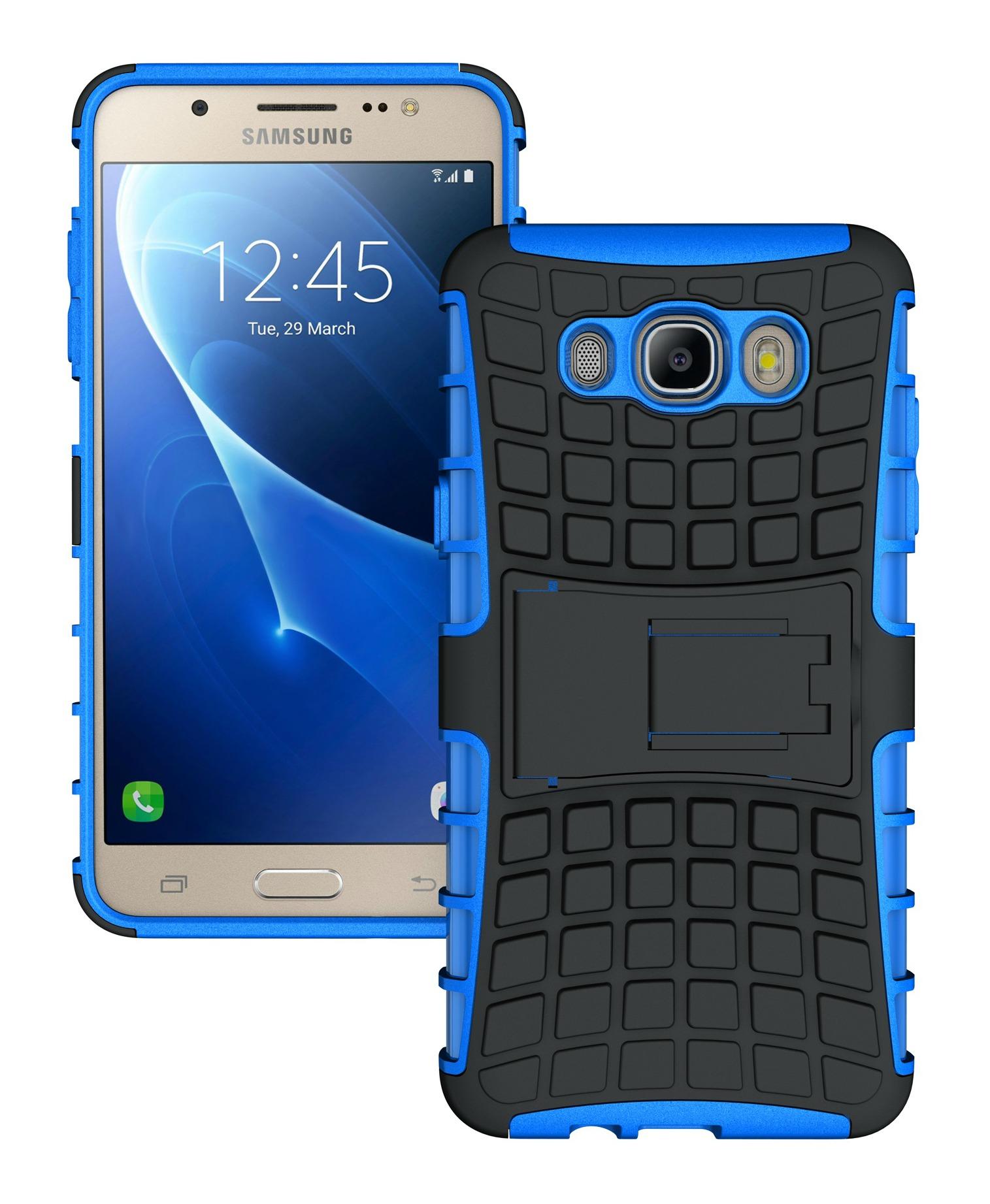 Ανθεκτική Θήκη Samsung Galaxy J7 (2016) (8480) - Μπλέ - OEM