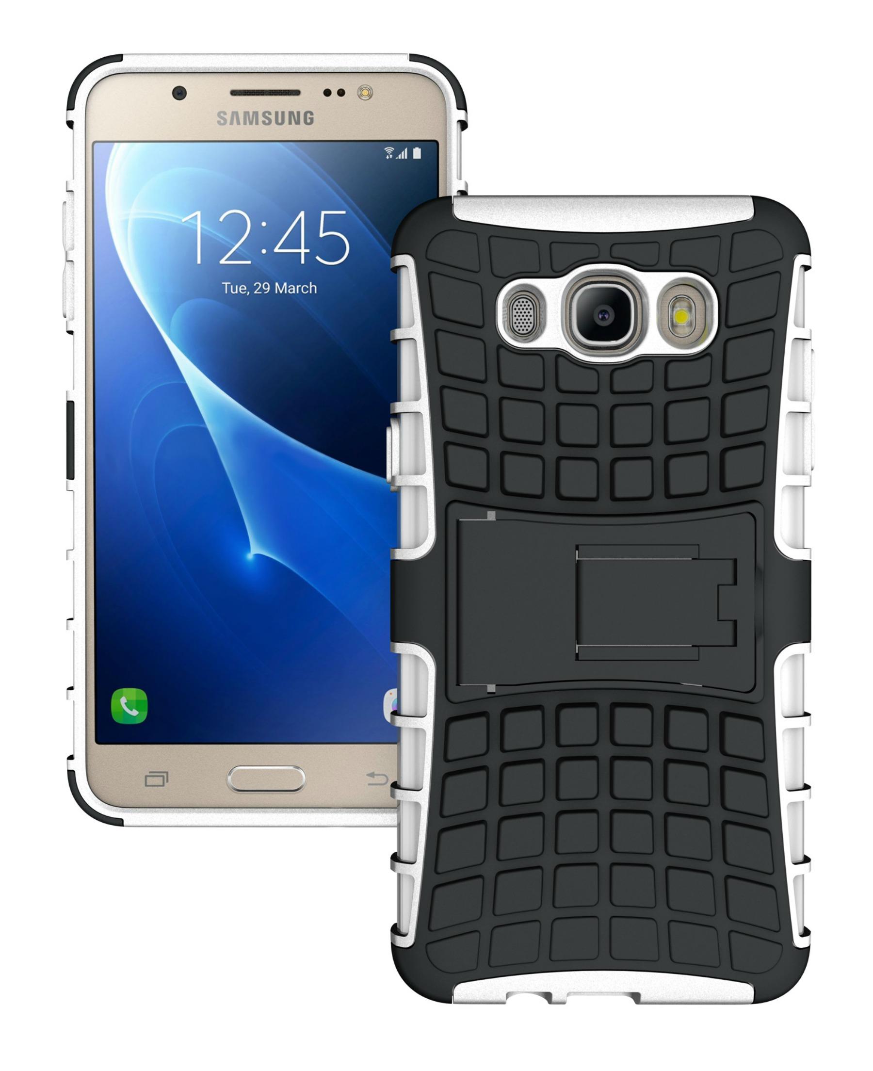 Ανθεκτική Θήκη Samsung Galaxy J7 (2016) (8486) - Λευκό - OEM