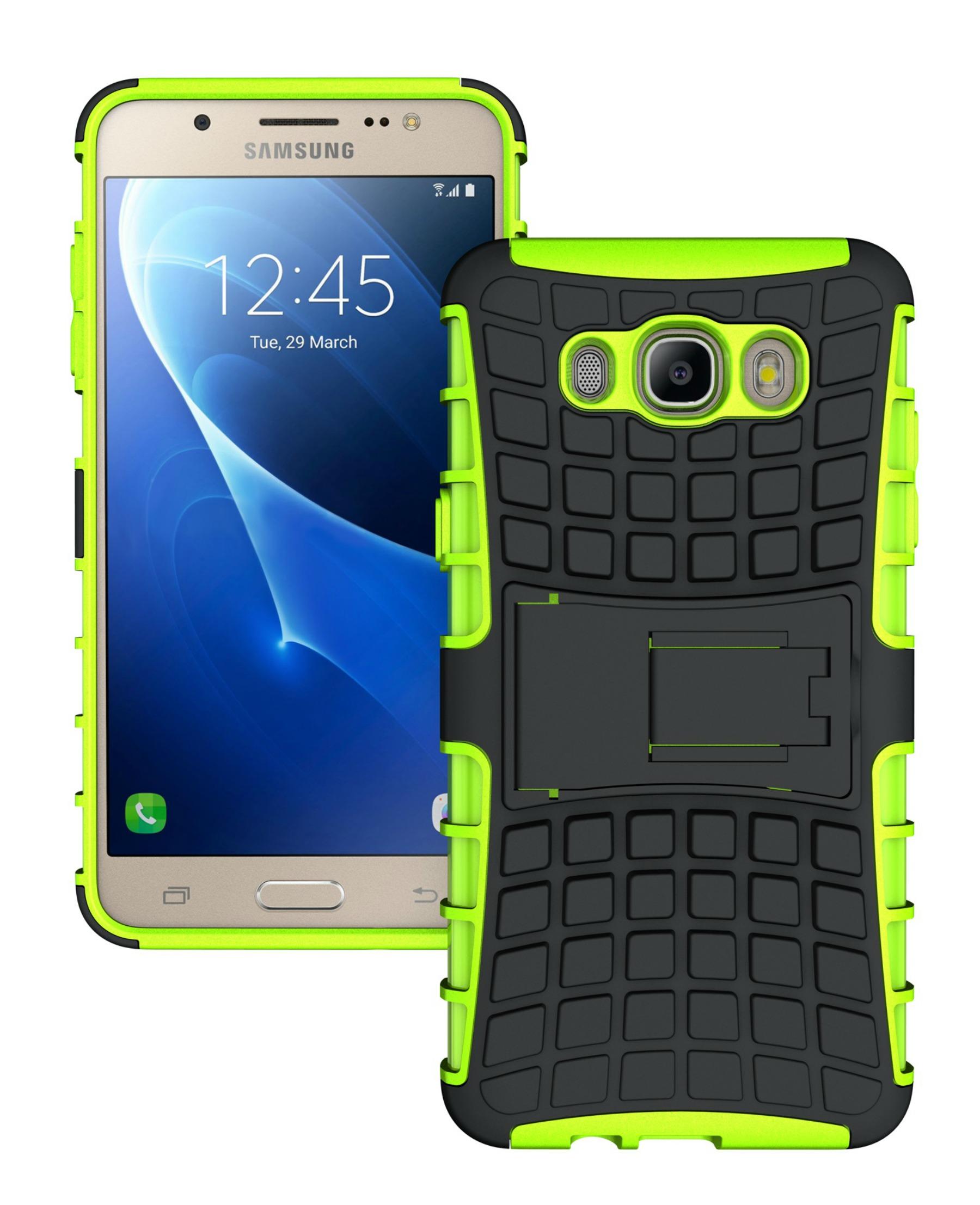 Ανθεκτική Θήκη Samsung Galaxy J7 (2016) (8485) - Πράσινο - OEM