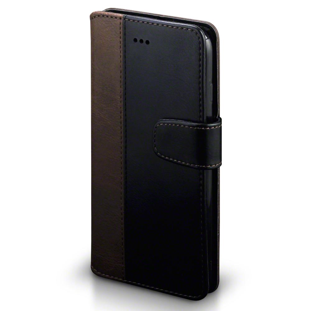 Terrapin Θήκη iPhone 8 Plus / iPhone 7 Plus - Πορτοφόλι (117-123-013) - Black / Brown