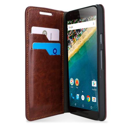 Θήκη LG Google Nexus 5X - Πορτοφόλι by Olixar (55462)