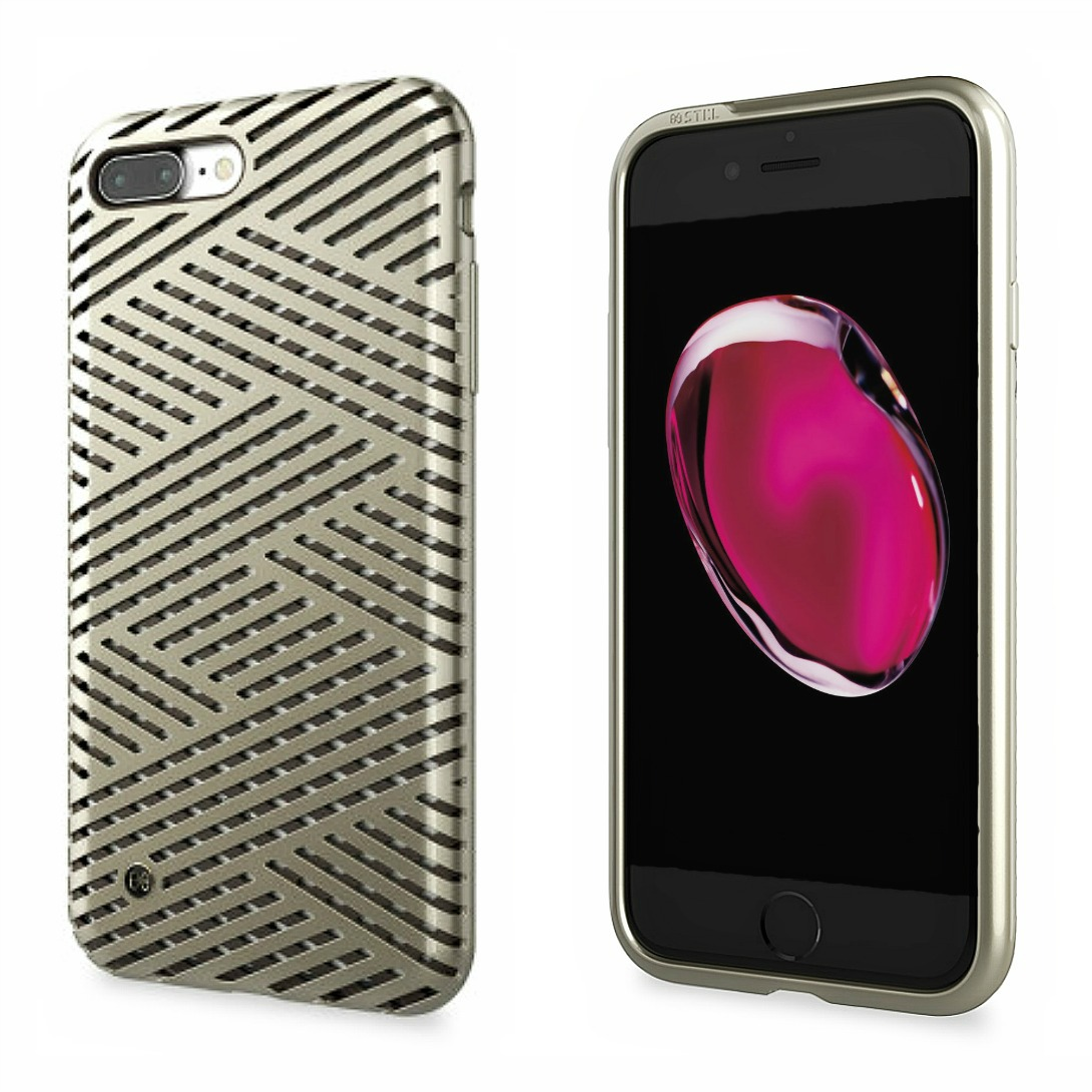 Stil Kaiser II Θήκη iPhone 8 Plus / iPhone 7 Plus - Champagne Gold (SB2AIHT13MCGD)