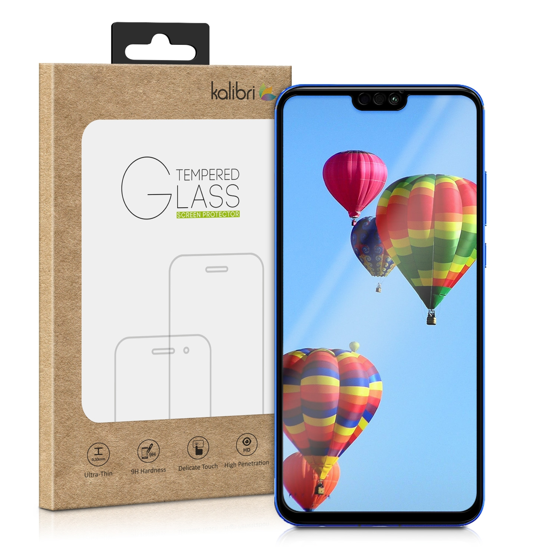 Kalibri Tempered Glass - Fullface Αντιχαρακτικό Γυαλί Οθόνης Huawei Honor 8X - Black (48803.01)