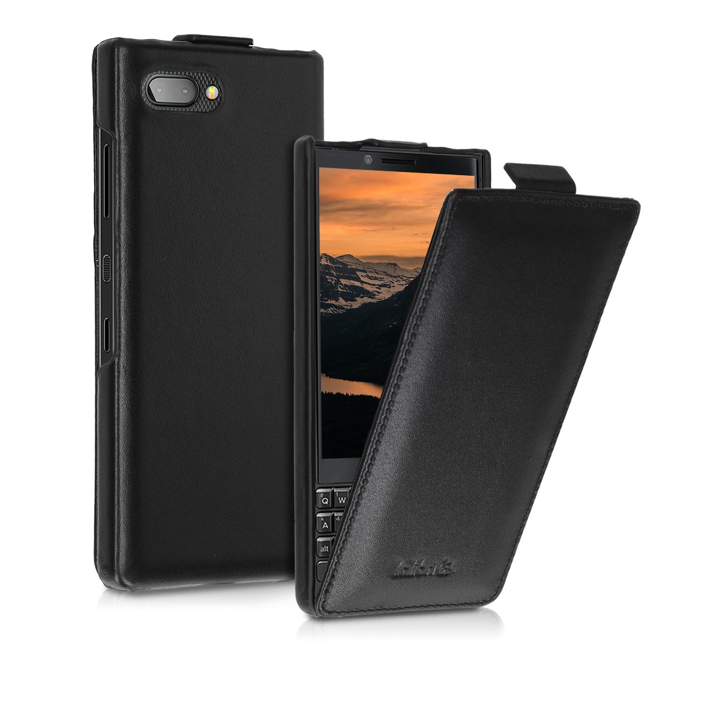 Kalibri Δερμάτινη Flip Θήκη Blackberry KEYtwo (Key2) - Black (46609.01)
