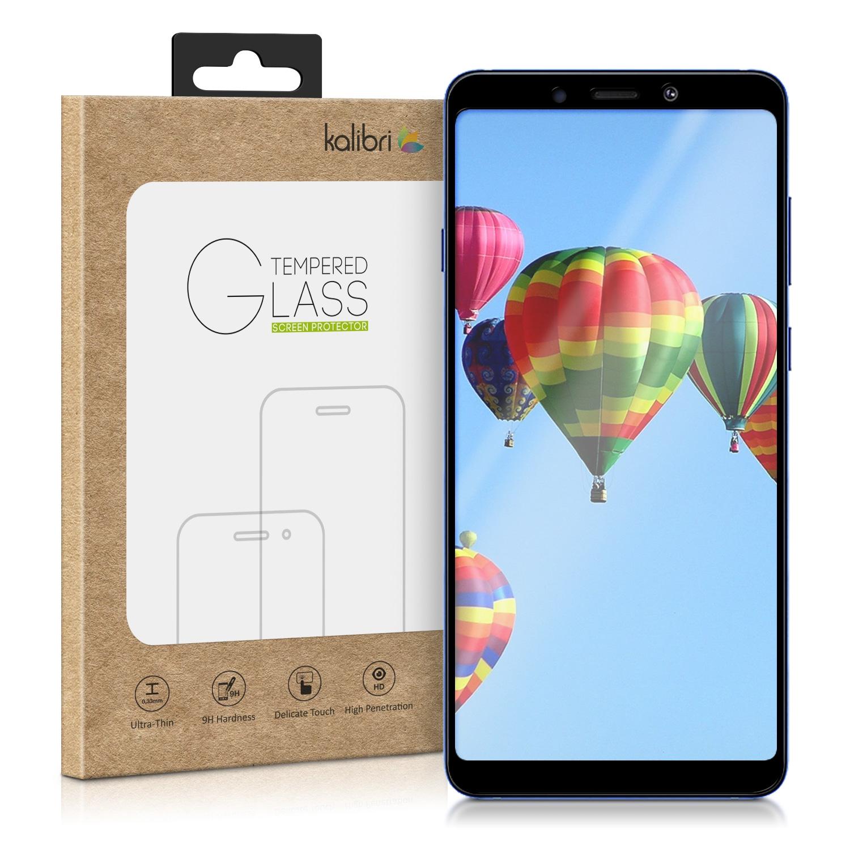 Kalibri Tempered Glass - Fullface Αντιχαρακτικό Γυαλί Οθόνης Samsung Galaxy A9 2018 - Black Frame (48184.01)