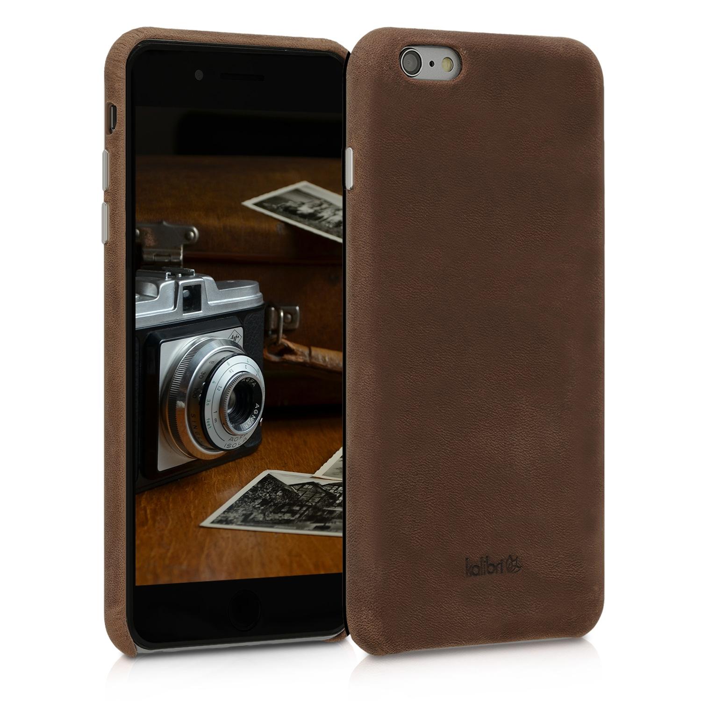 Kalibri Σκληρή Δερμάτινη Θήκη iPhone 6 Plus / 6S Plus - Brown (48592.05)