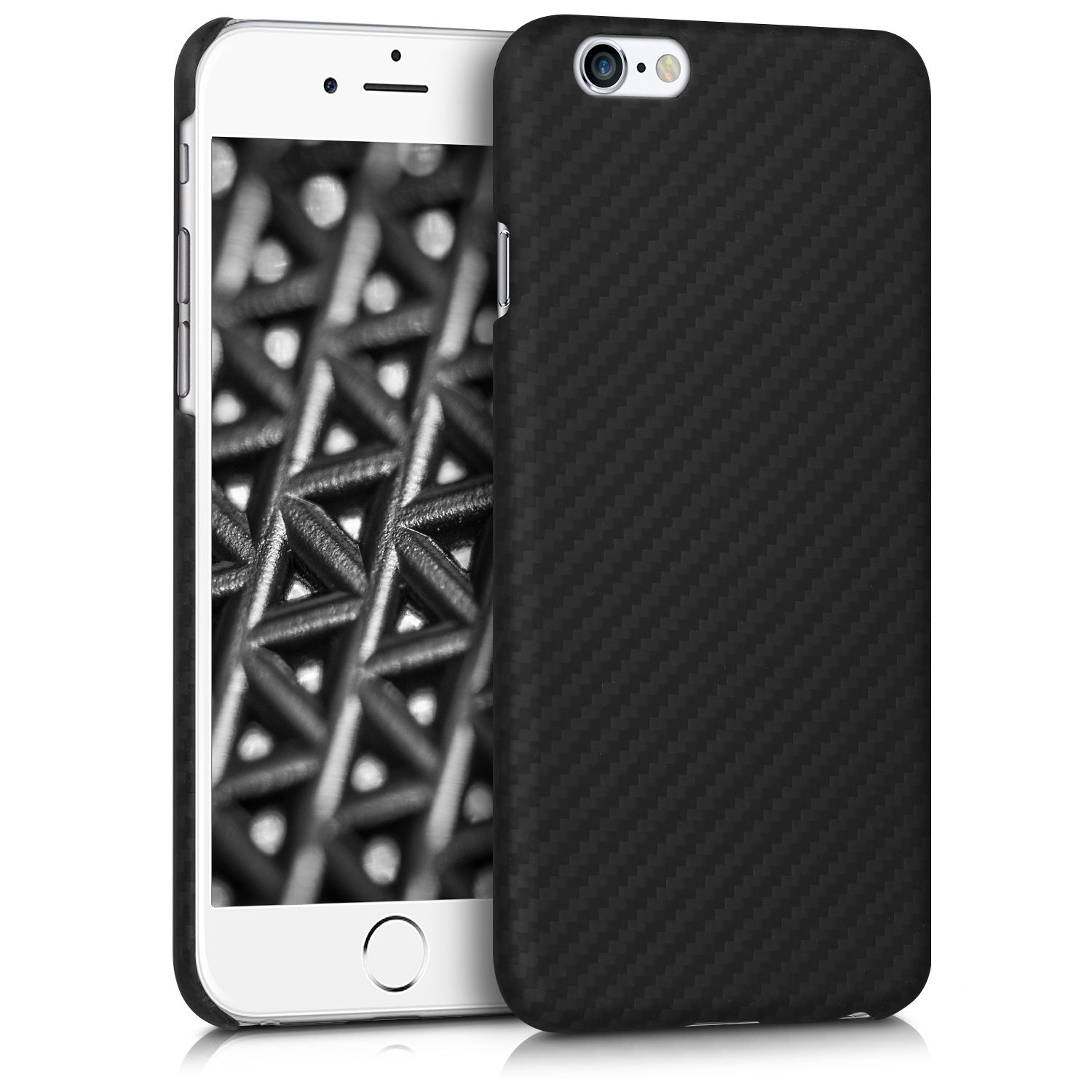 Kalibri Aramid Fiber Body - Σκληρή Θήκη iPhone 6 / 6S - Black Matte (43110.01)