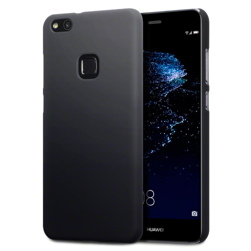 Terrapin Σκληρή Θήκη Καουτσούκ Huawei P10 Lite - Black (151-083-020)