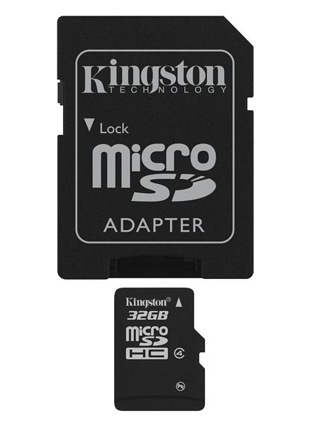 Kingston Κάρτα Μνήμης microSD 32GB - Class 10 (SDC10/32GB)