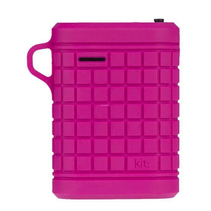 Kit Power Bank IPX66 Universal Waterproof - 9000mAh - Pink (PWRRUGPI)