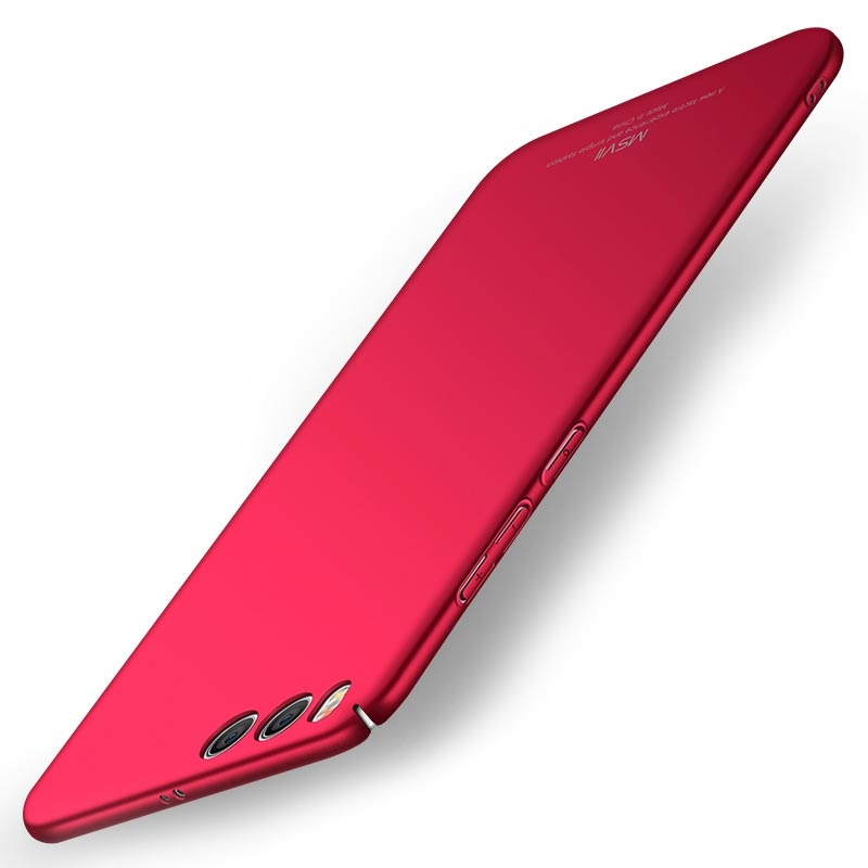 MSVII Super Slim Σκληρή Θήκη PC Xiaomi Mi 6 - Red (G2-03)