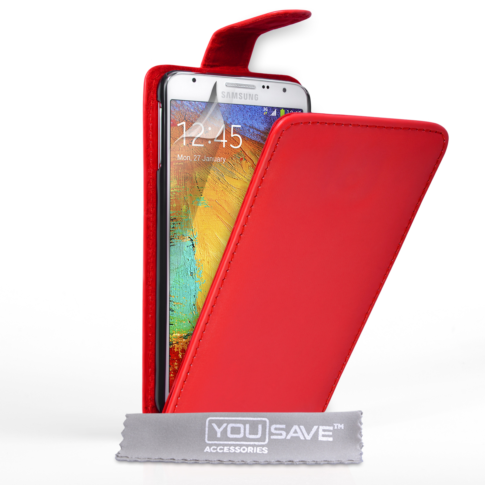 Flip Θήκη Samsung Galaxy Note 3 Neo by YouSave (Z660)