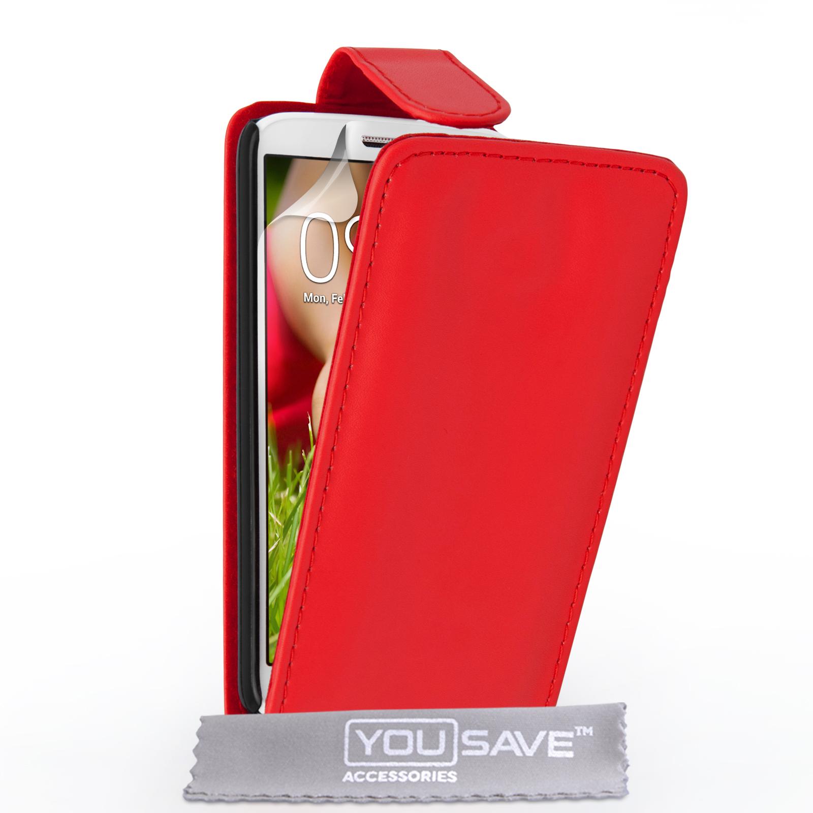 Flip Θήκη LG G2 Mini by YouSave (Z412-G2M)