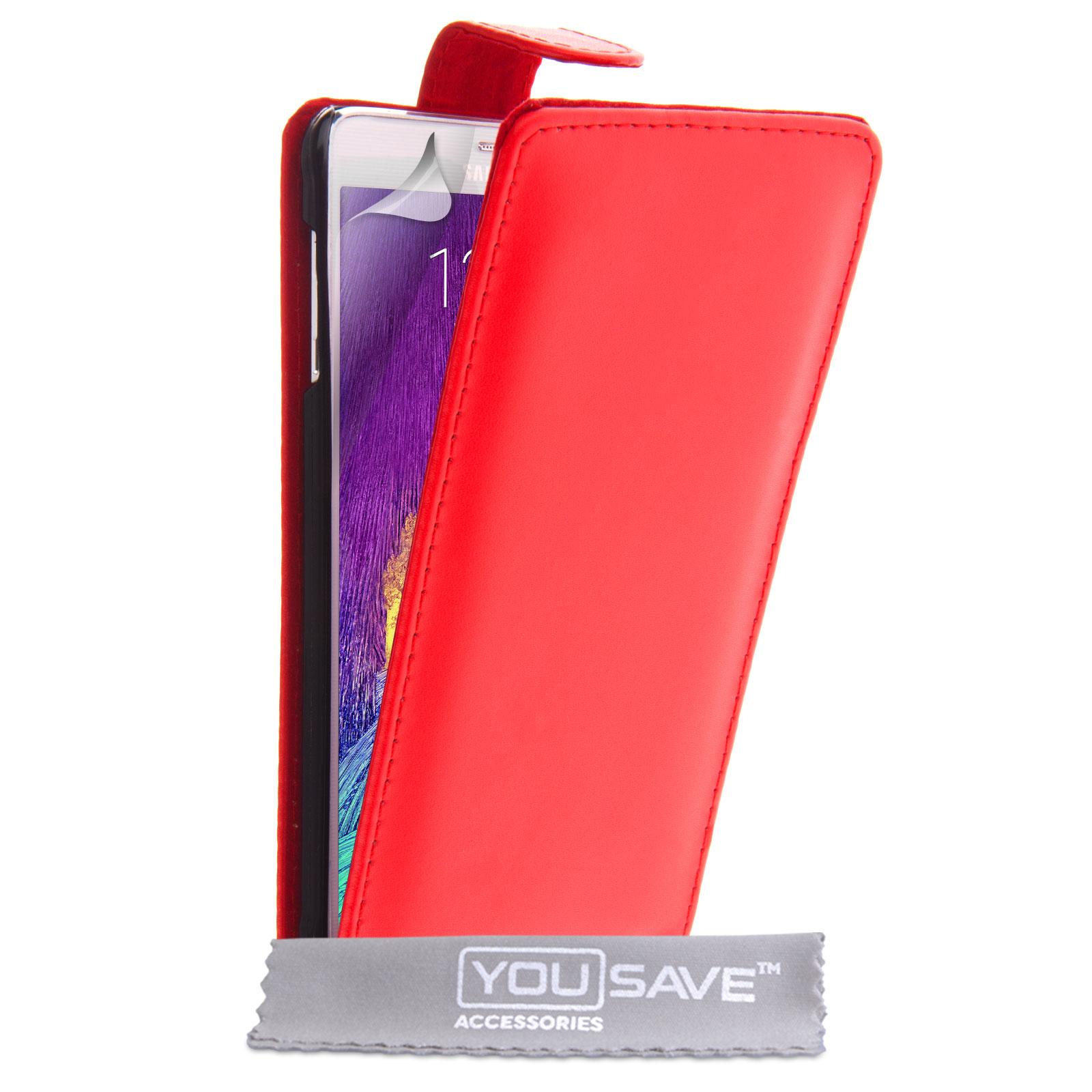 YouSave Flip Θήκη Samsung Galaxy Note 4 (Z984) - Red