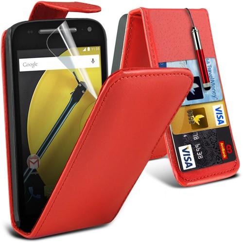Flip Θήκη Motorola Moto E 2nd Gen (001-003-306) - OEM