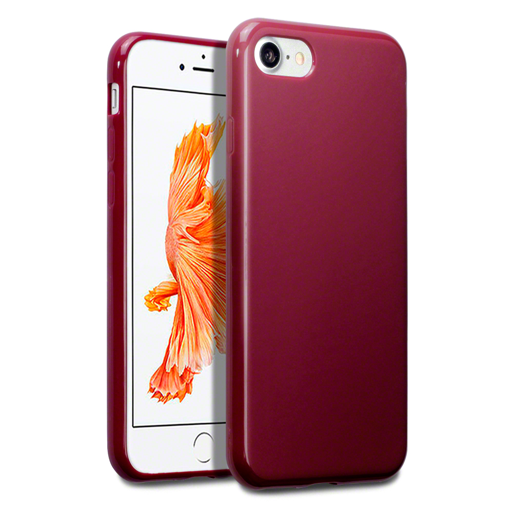 Terrapin Matte Θήκη Σιλικόνης iPhone 8 / 7 (118-122-006) - Red Matte