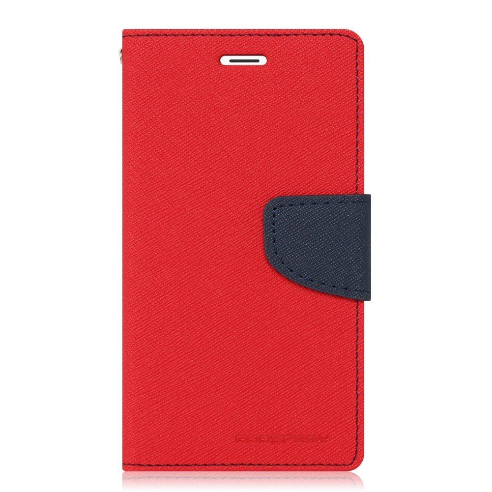 Mercury Fancy Diary Θήκη Samsung Galaxy J7 (2016) - Πορτοφόλι (9270) - Κόκκινο/Μπλέ