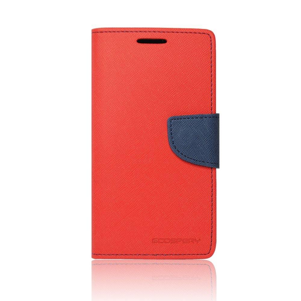 Θήκη Samsung Galaxy S6 Edge Plus - Πορτοφόλι Κόκκινο by Mercury (001-002-061)