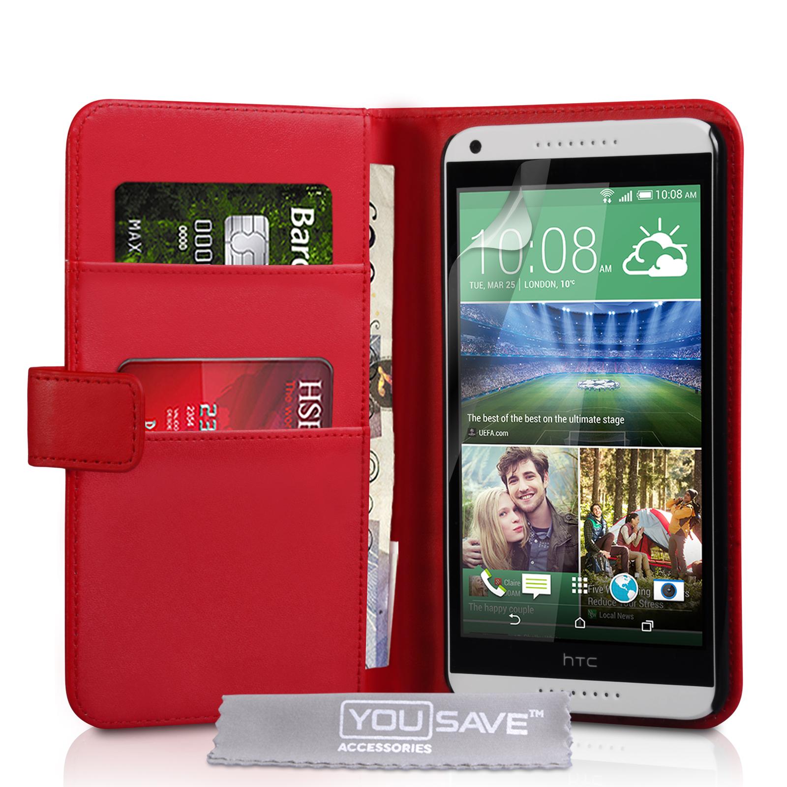 Θήκη HTC Desire 816 - Πορτοφόλι by YouSave (Z413816) μόδα