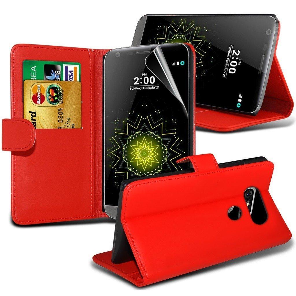 Θήκη Huawei Honor 8 - Πορτοφόλι - Κόκκινο (9681) - OEM θήκες κινητών