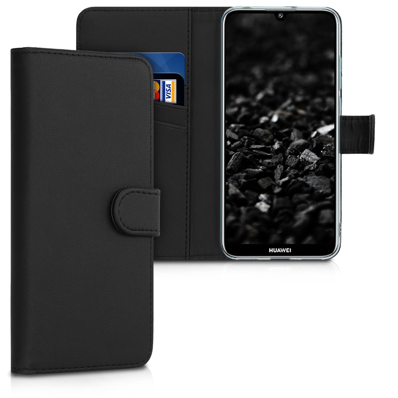 KW Θήκη - Πορτοφόλι  Huawei Y6 2019 - Black (48125.01)