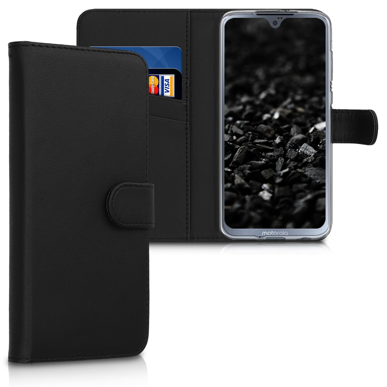 KW Θήκη - Πορτοφόλι Motorola Moto G7 - Black (47488.01)