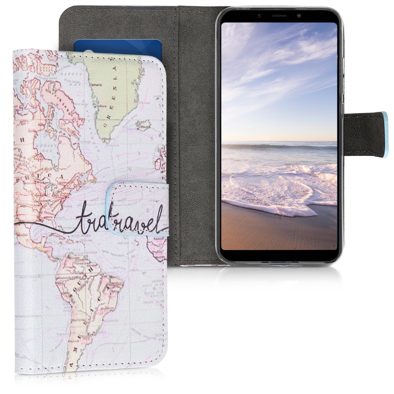 KW Θήκη - Πορτοφόλι Xiaomi Redmi 6 Pro / Mi A2 Lite - Black / Multicolor (46173.05)