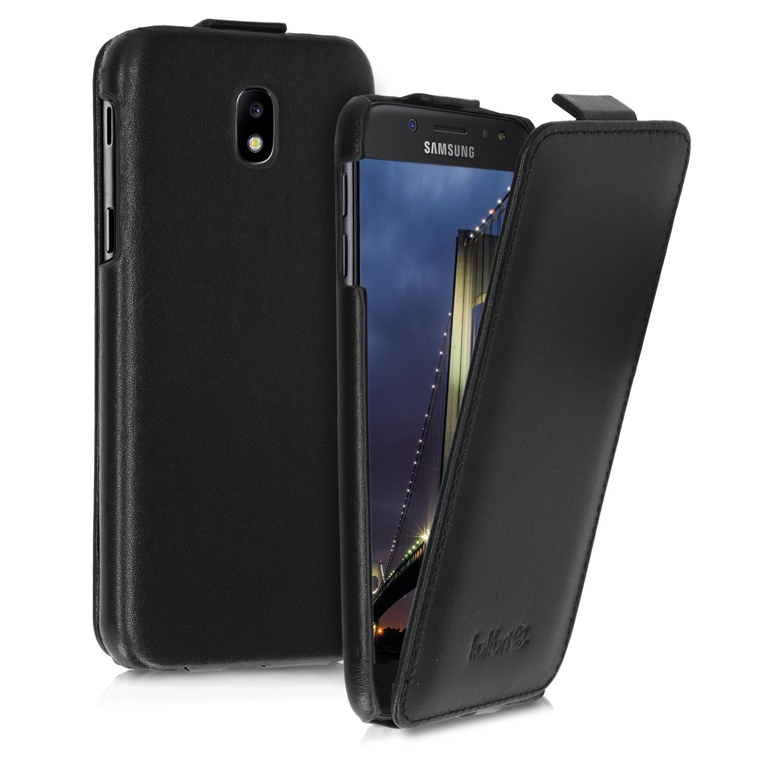 Κalibri Δερμάτινη Flip Θήκη Samsung Galaxy J5 (2017) DUOS - Black (46611.01)