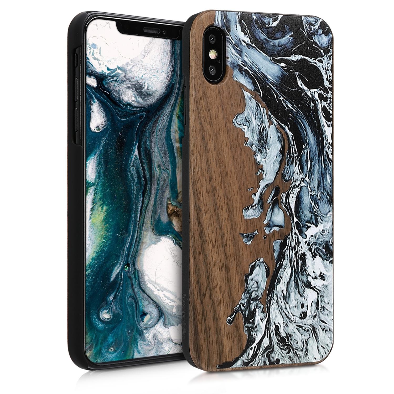 KW Σκληρή Ξύλινη Θήκη iPhone XS Max (46481.02)