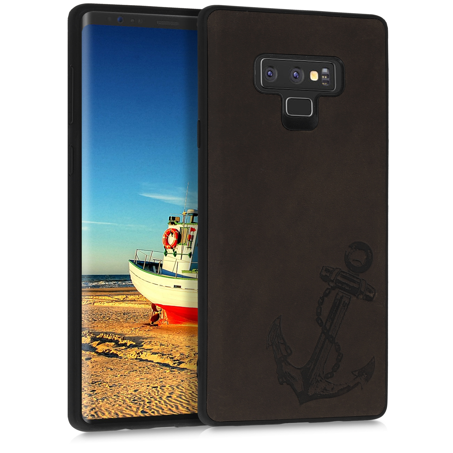 Kalibri Δερμάτινη Θήκη Samsung Galaxy Note 9 - Dark Brown (47747.01)