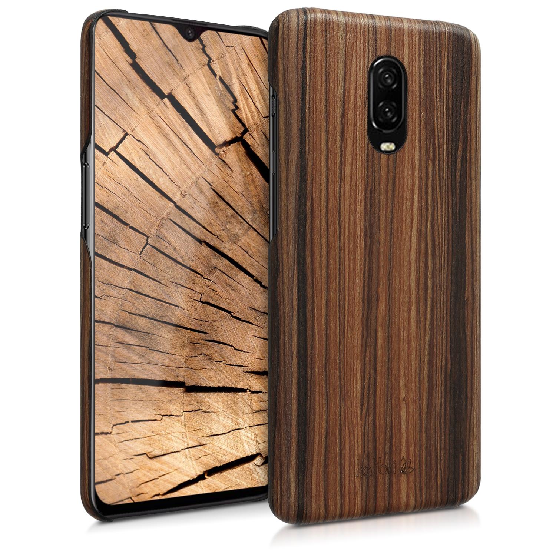 Kalibri Ξύλινη Θήκη OnePlus 6T - Brown (46317.05)