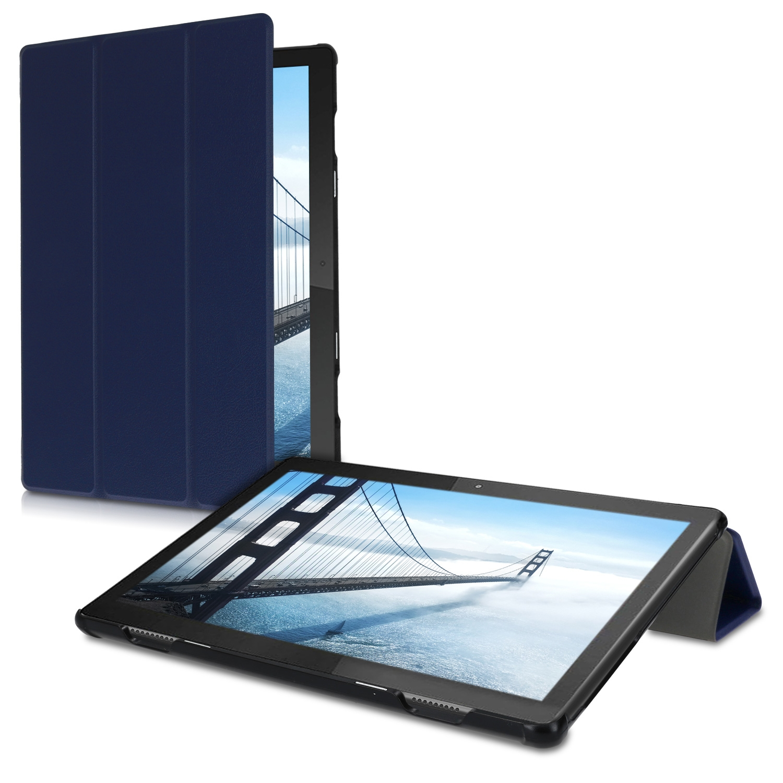 KW Ultra Slim Θήκη Lenovo Tab M10 - Dark Blue (48377.17)