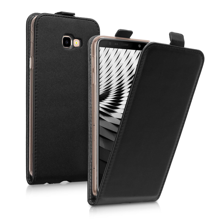 KW Flip Θήκη Samsung Galaxy J4 Plus 2018 - Black (46437.01)