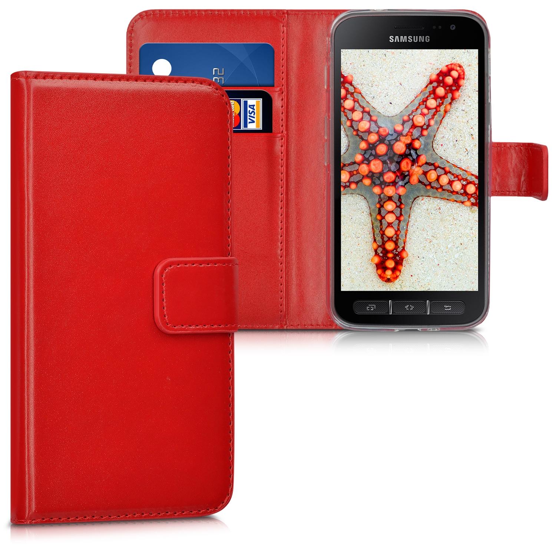 KW Θήκη - Πορτοφόλι Samsung Galaxy Xcover 4 - Red (41169.09)