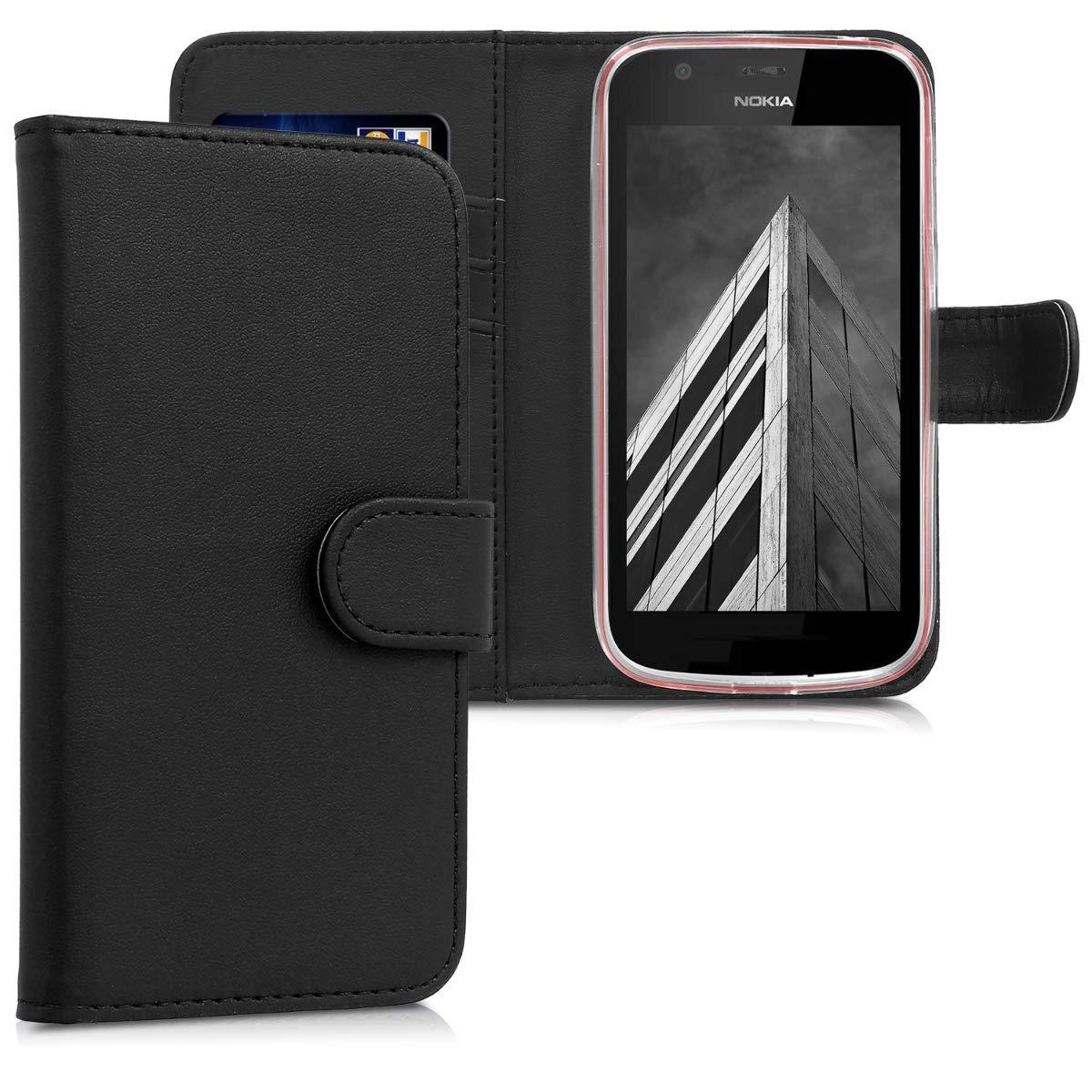 KW Θήκη - Πορτοφόλι Nokia 1 - Black (44504.01)