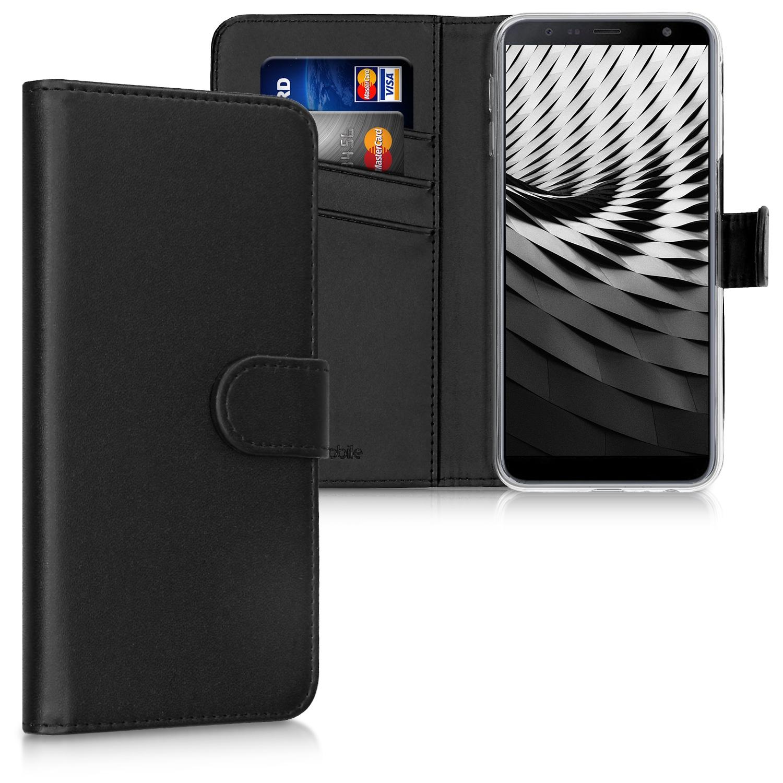 KW Θήκη - Πορτοφόλι Samsung Galaxy J6 Plus 2018 - Black (46442.01)